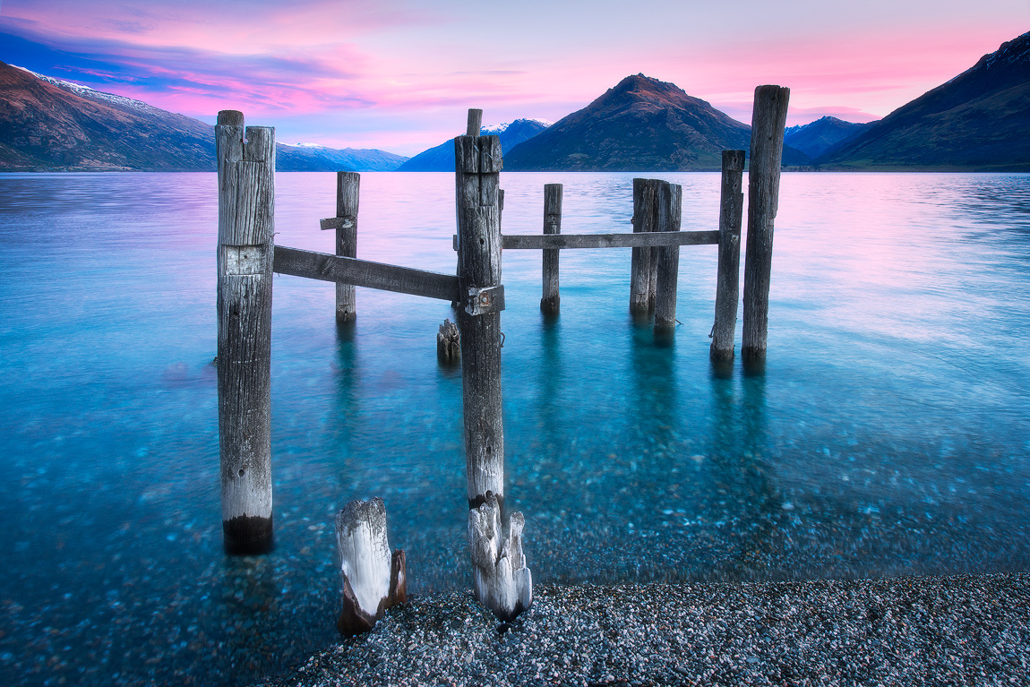 Lake Wakatipu Queenstown New Zealand Luke Austin Soulscape Photography Gallery